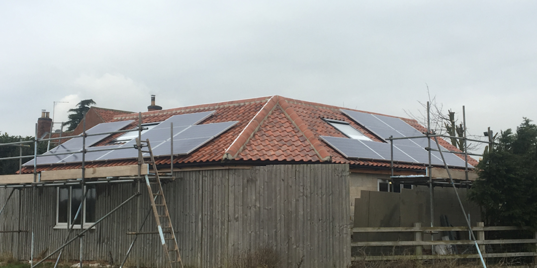 Solar PV Installation, South Clifton Lincolnshire